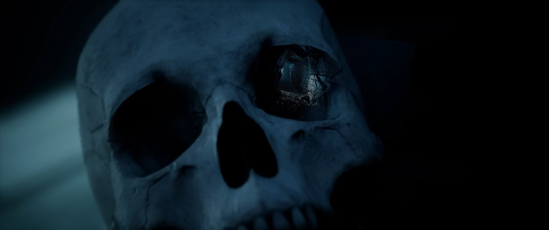 The Dark Pictures Anthology: House of Ashes almost showed its big bad threat screenshot