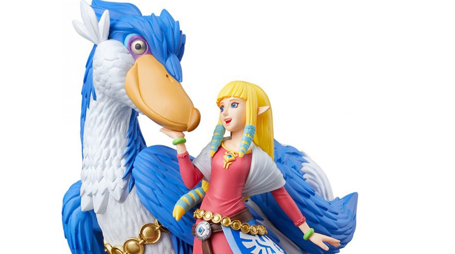 The new Loftwing figure is the only amiibo that can be used in Zelda: Skyword Sword HD, and it's $25 and has sold out at several stores already screenshot