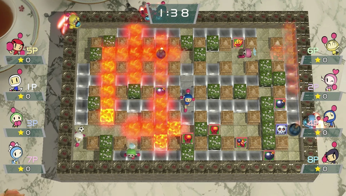 Battle royale Super Bomberman R Online hits Switch, PC, and PS4/PS5 for free next week screenshot