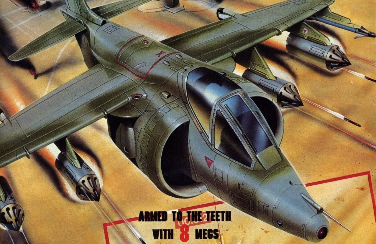 Arcade Archives back on its shmup kick with NMK's Task Force Harrier screenshot