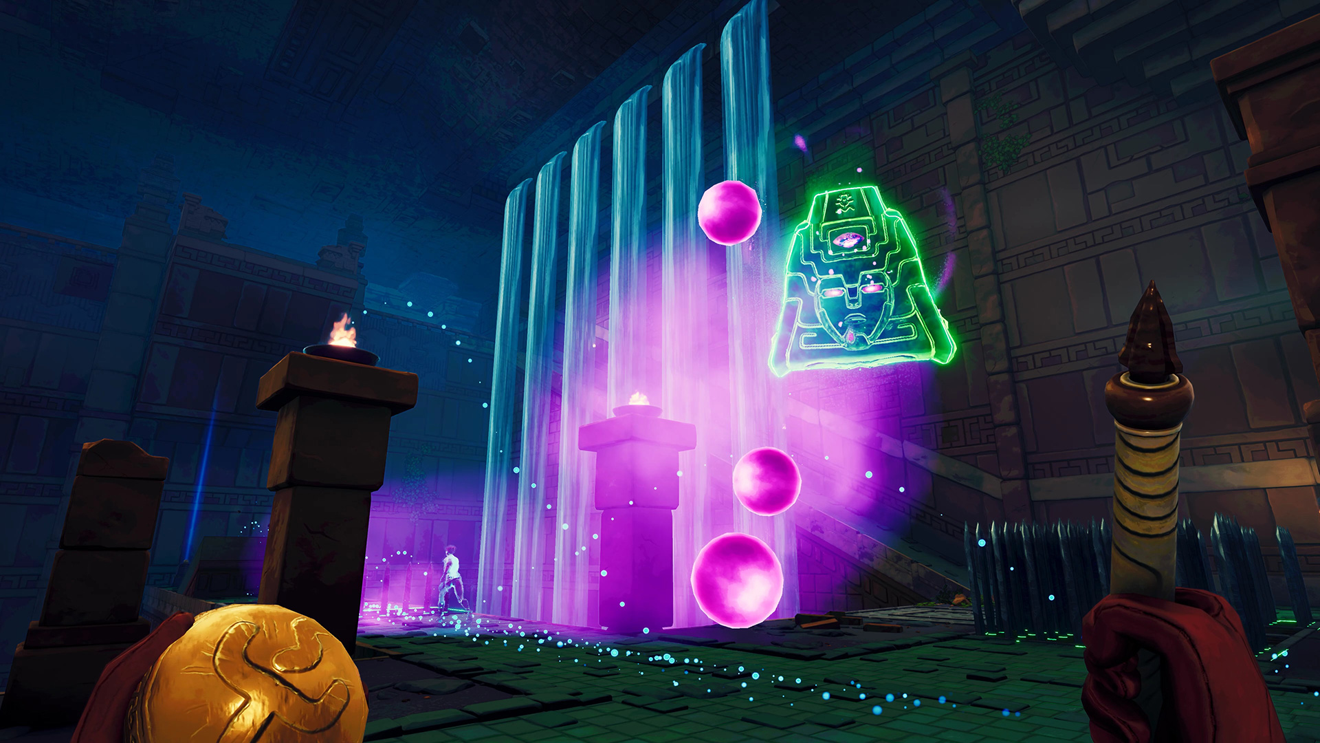 Phantom Abyss is a trap-dodging temple adventure with frantic asynchronous multiplayer screenshot