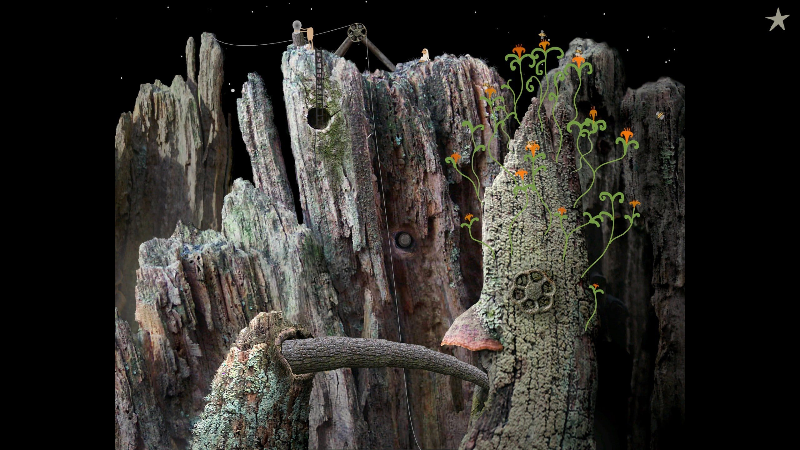 Samorost is back with a free enhanced version on PC, iOS, and Android screenshot