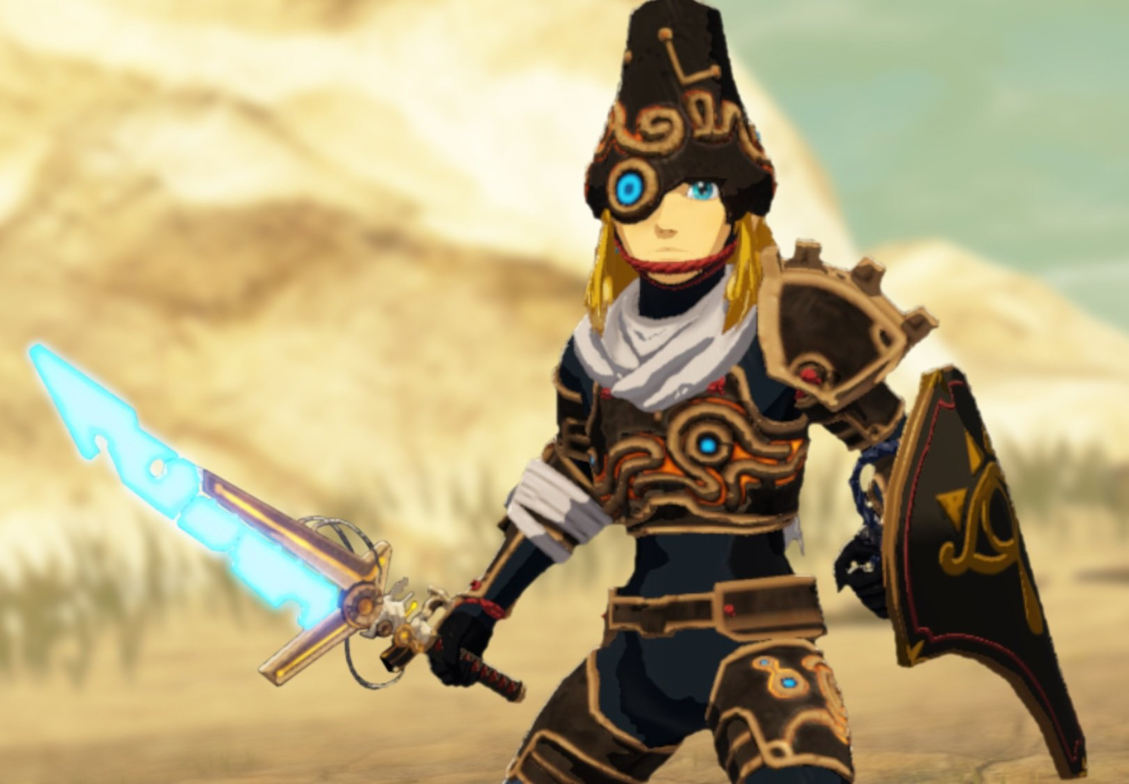 Hyrule Warriors: Age of Calamity reveals its special expansion pass DLC costume screenshot