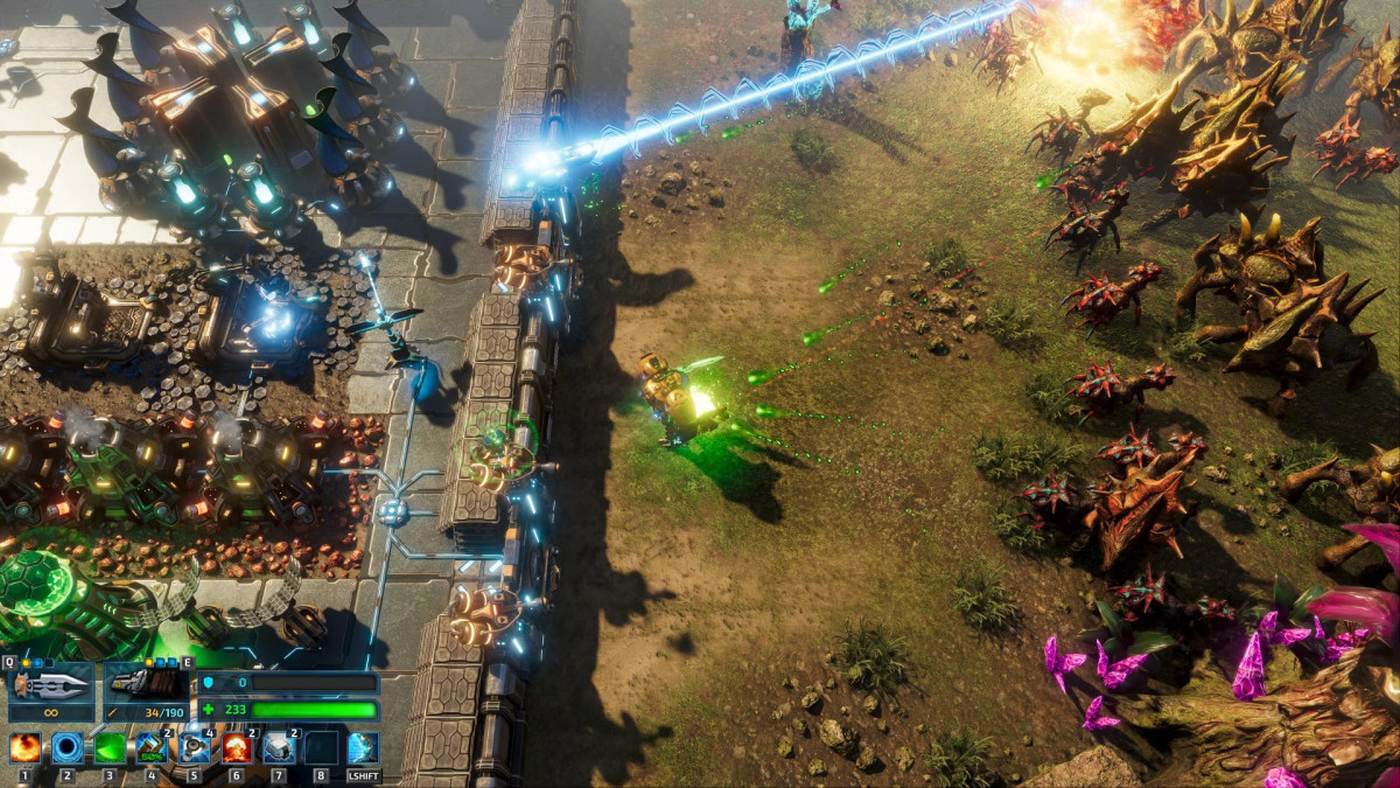 Mech-based base builder The Riftbreaker will launch on Game Pass screenshot