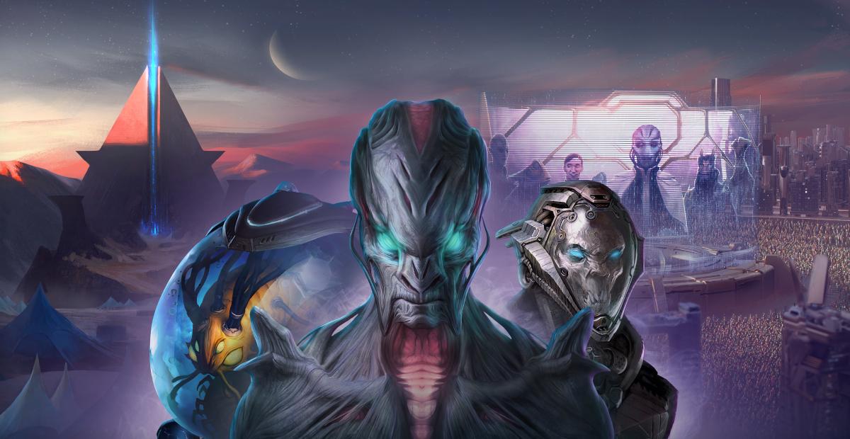 Stellaris: Console Edition will receive a major update on June 17 screenshot