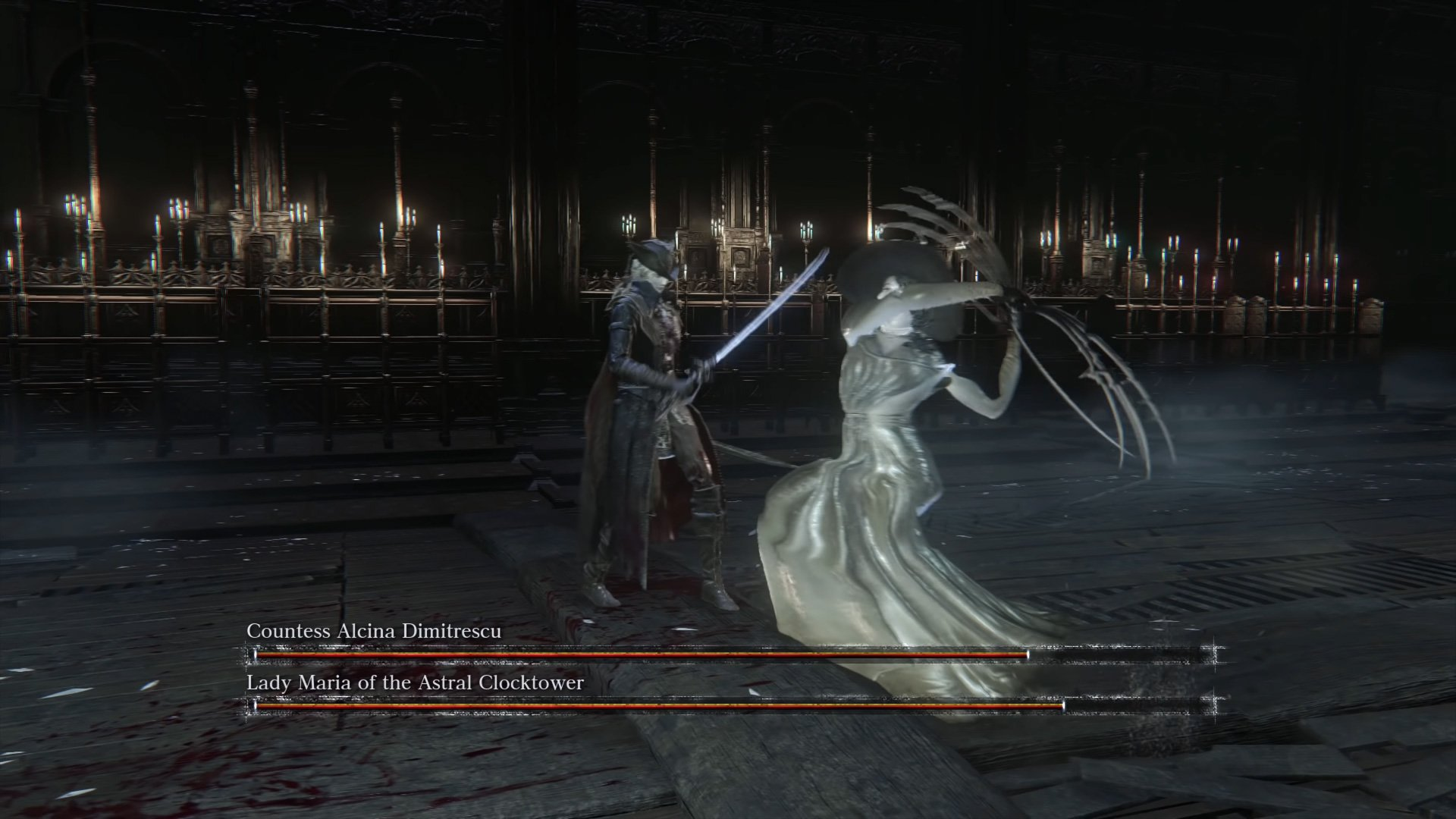This Lady D vs. Lady Maria fight in Bloodborne didn't go the way I expected screenshot
