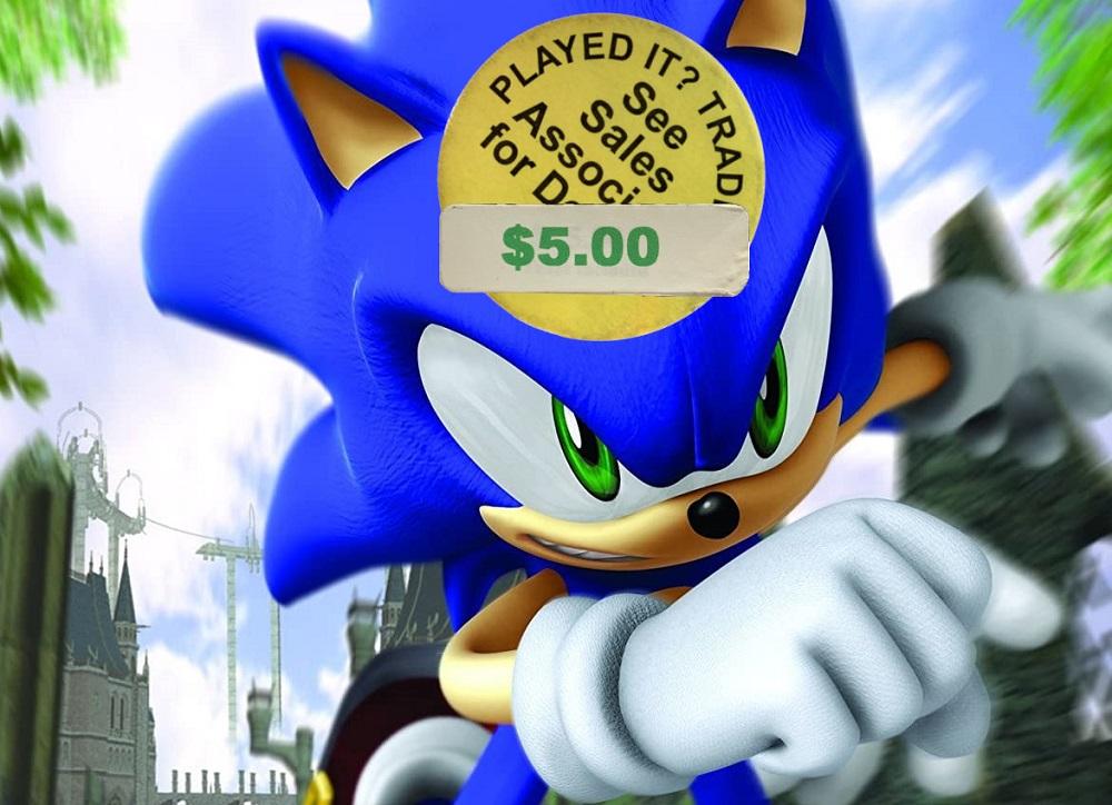 Sonic the Hedgehog (2006) was an embarrassing 15th birthday present screenshot