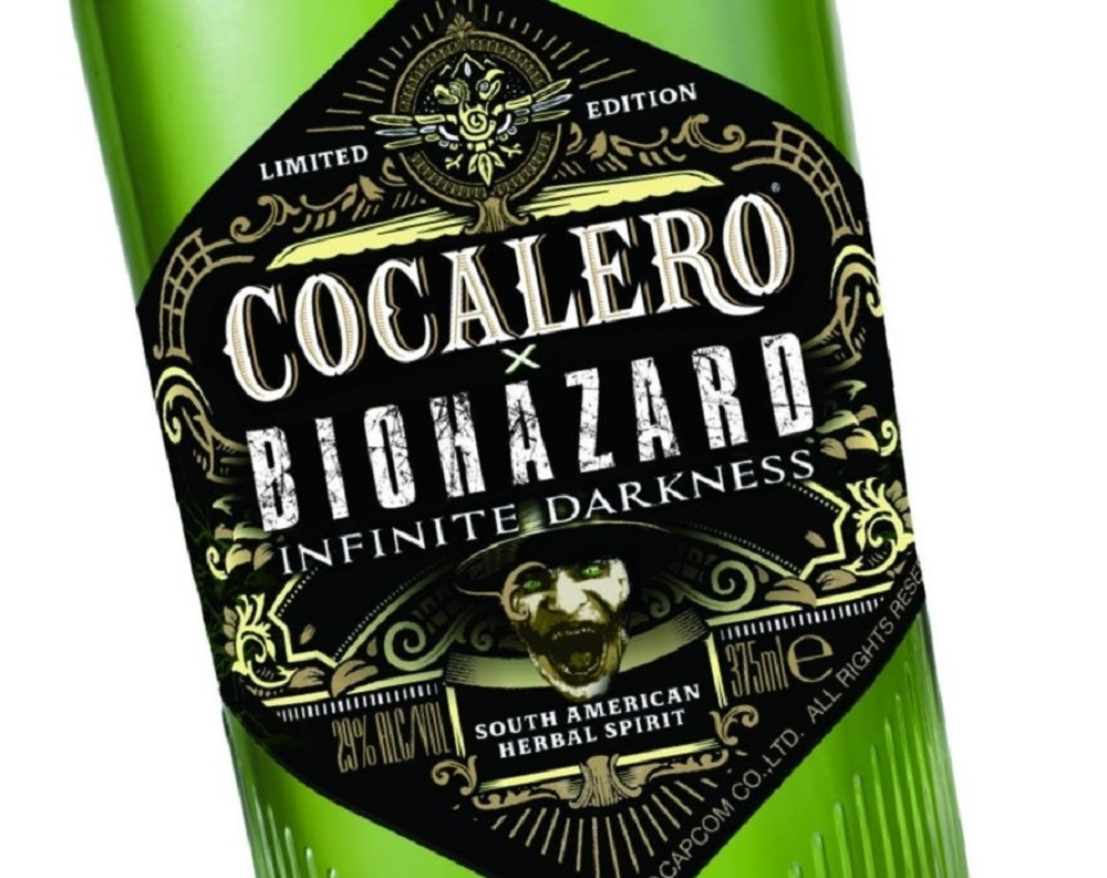 Resident Evil: Infinite Darkness 'green herb' booze might not offer the immediate health boost you'd expect screenshot