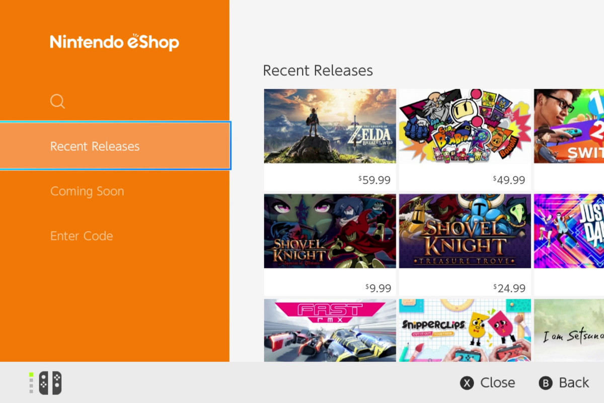 New Switch eShop patent could allow Nintendo to suggest games to each user screenshot