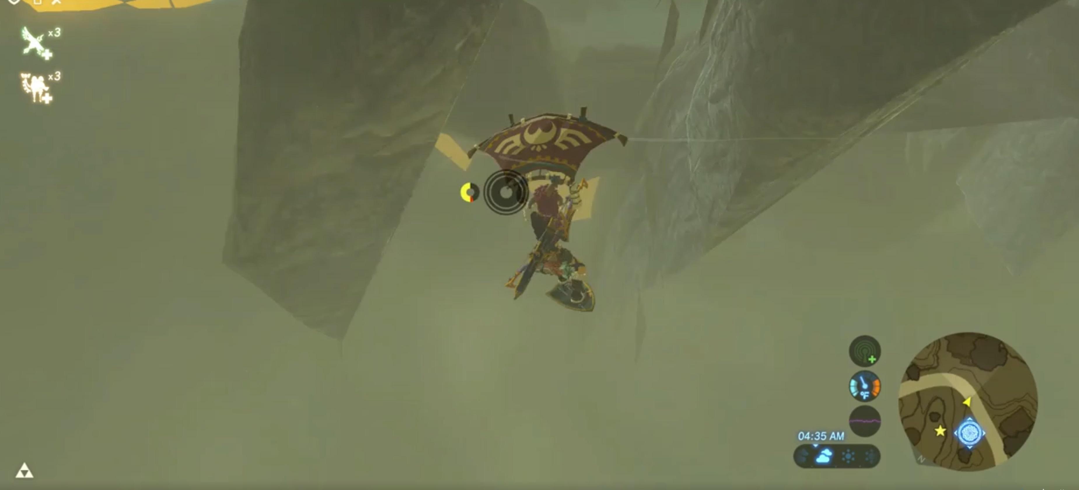 Zelda: Breath of the Wild player glitches the elusive glitched Hateno treasure chest screenshot