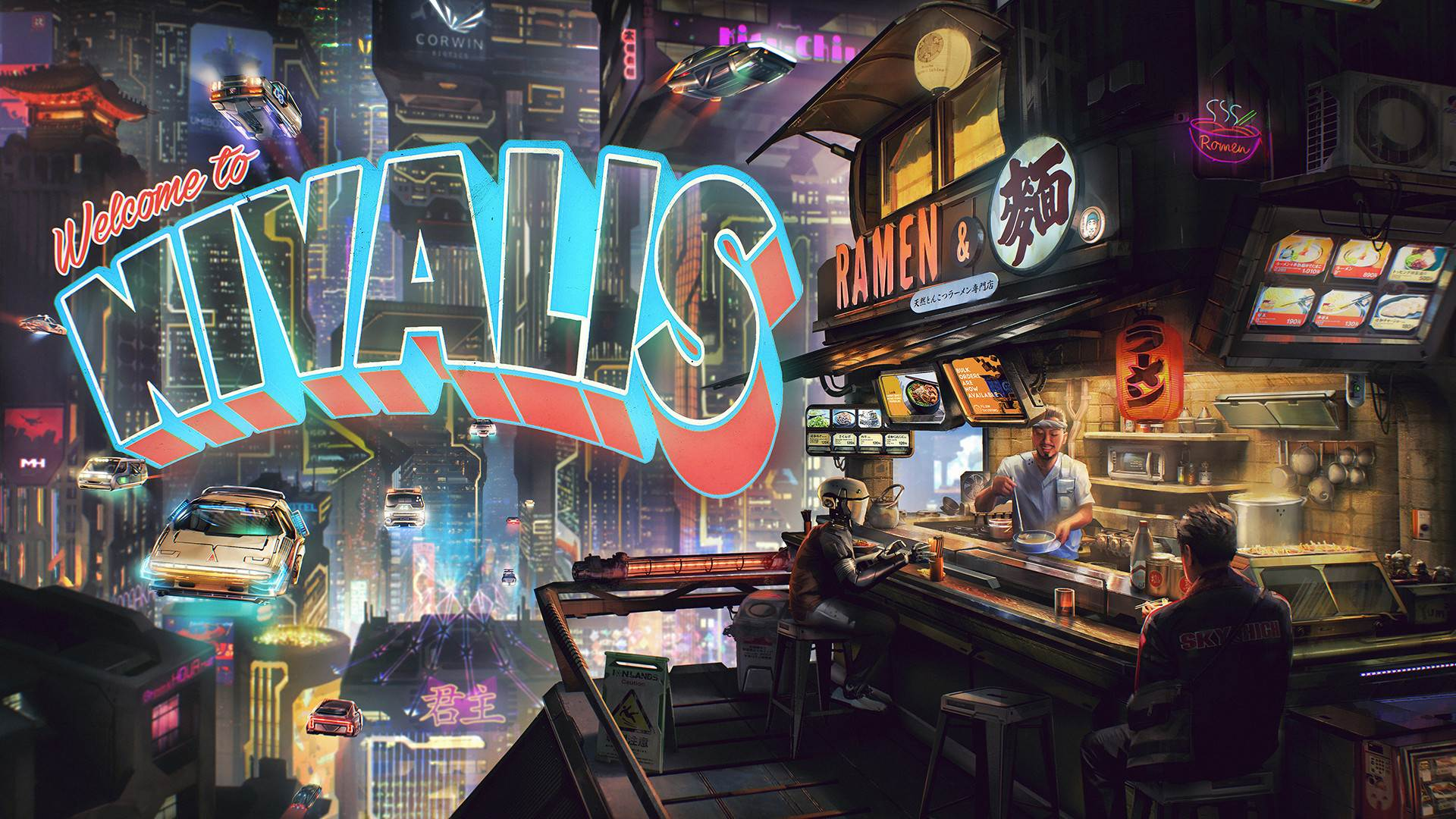 Cloudpunk devs tease new slice-of-life sim alongside launch of sequel-scale DLC screenshot