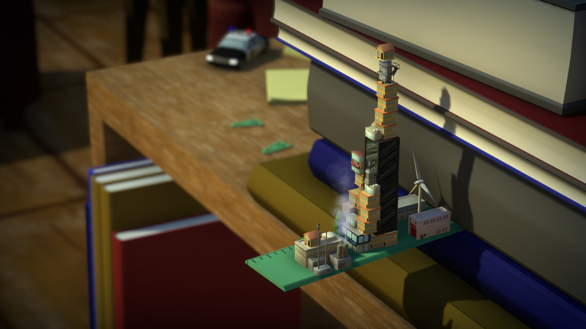 Tinytopia is a miniature city-builder with zany levels screenshot