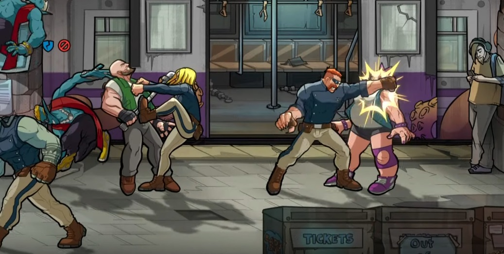 Mayhem Brawler will bring its knuckle-dustin' Streets of Rage 4 vibe this August screenshot
