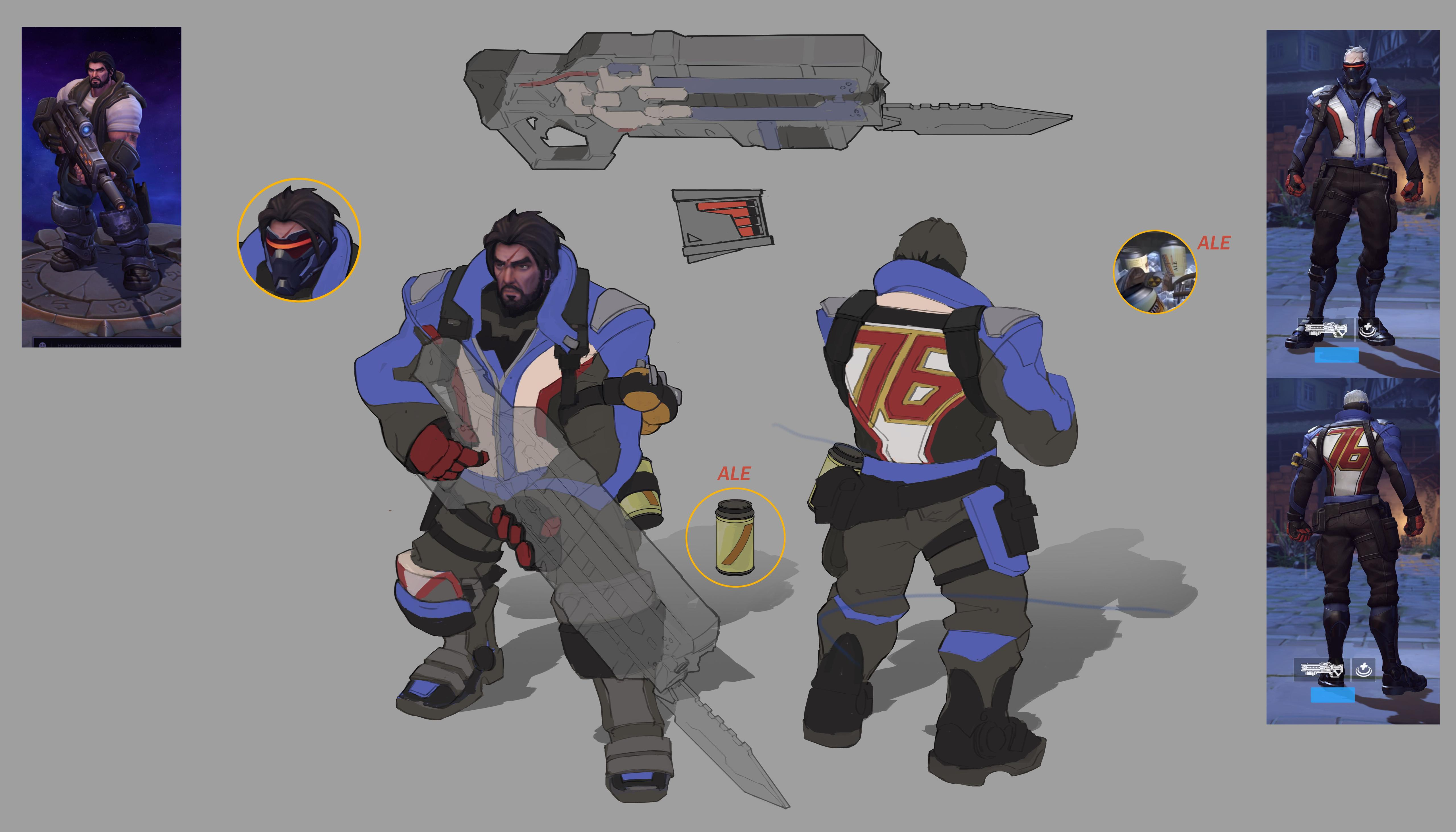 The Heroes of the Storm team walks us through how they made the new Overwatch skins screenshot