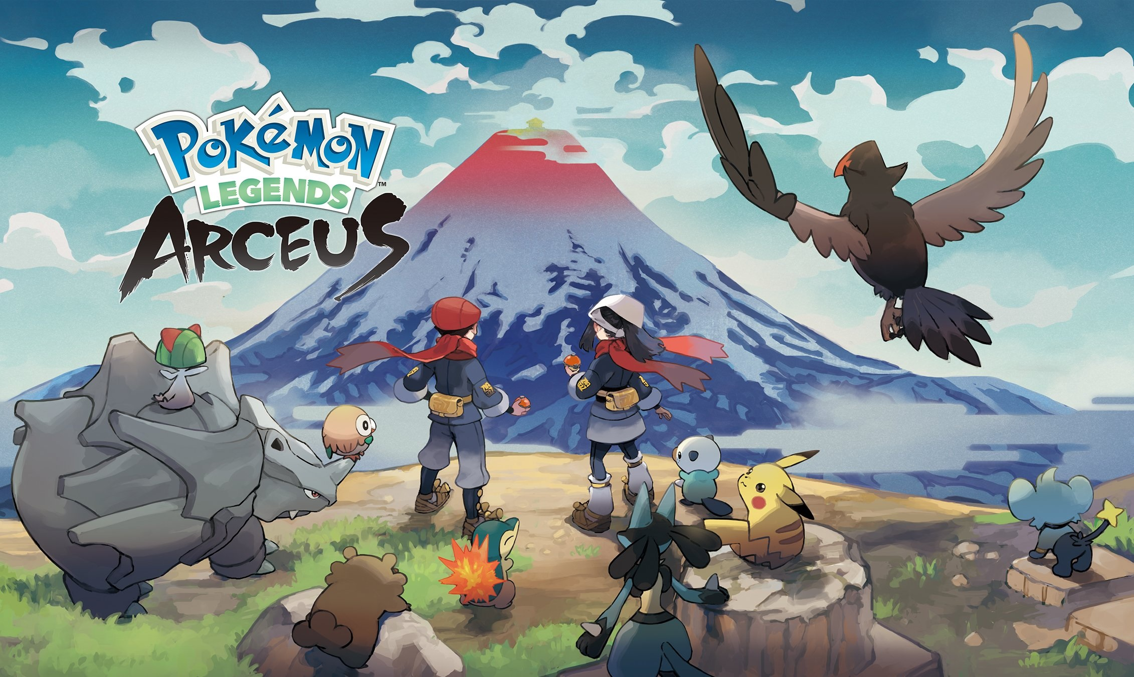 Pokemon Legends: Arceus will turn back the clock January 28, 2022 screenshot