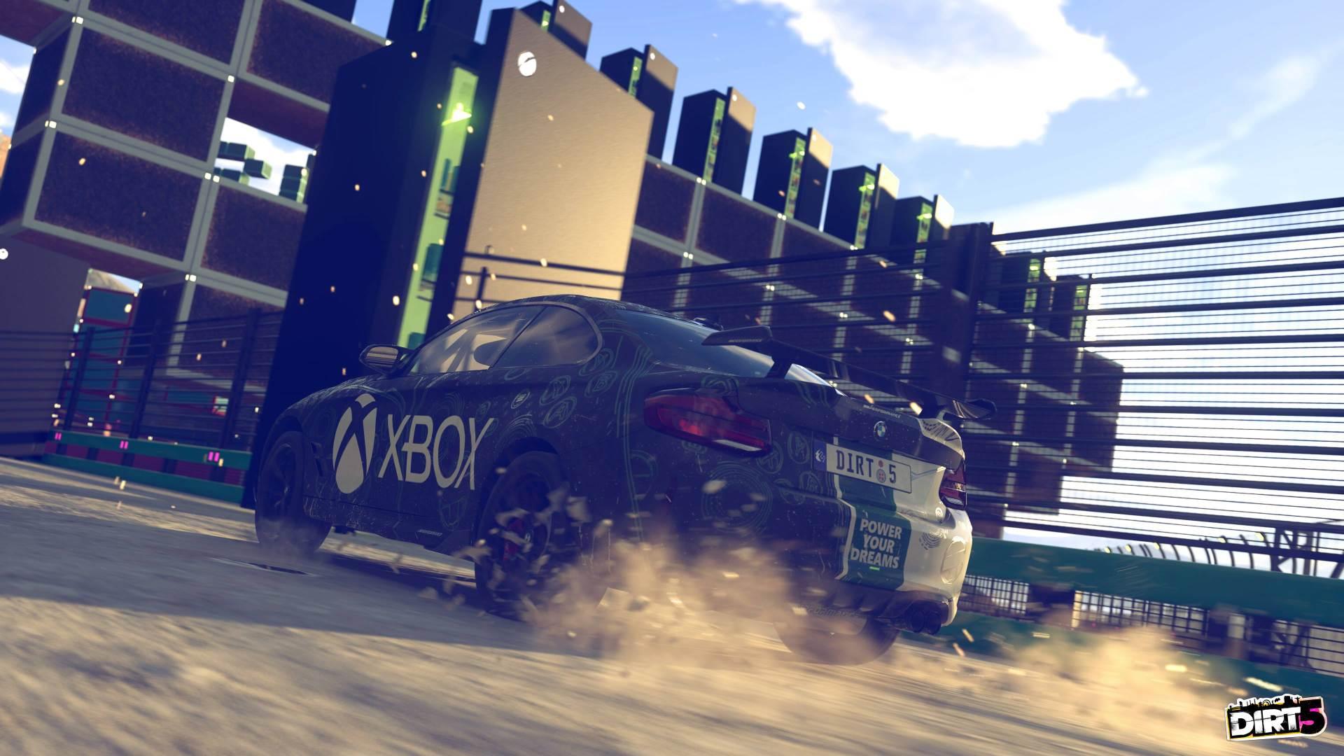 Dirt 5 adds the Xbox Series X fridge as a Game Pass perk screenshot