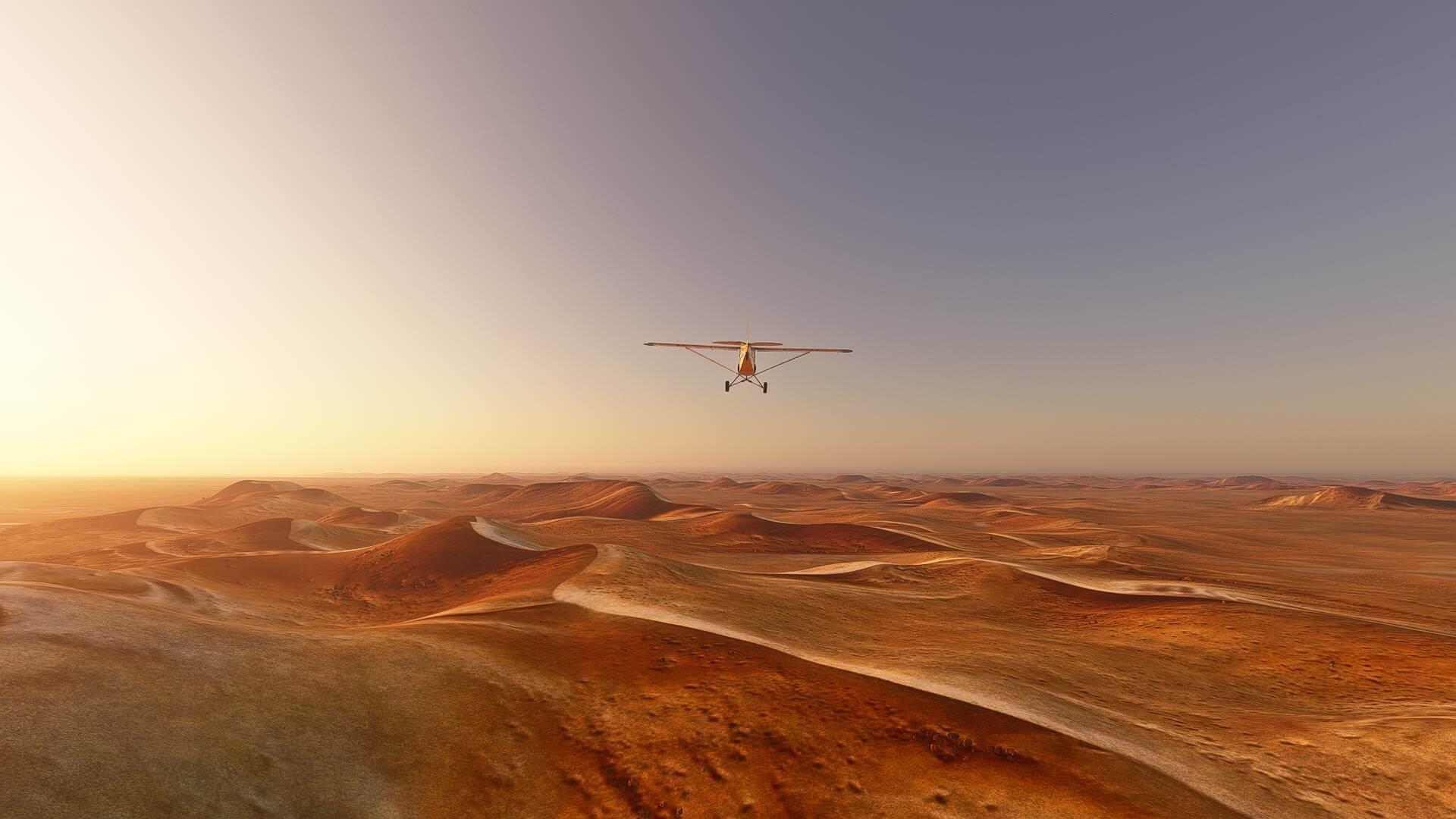 Microsoft Flight Simulator patch brings down its base file size screenshot