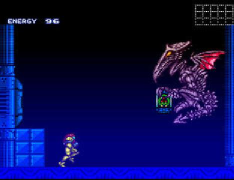 Super Metroid Ridley fight