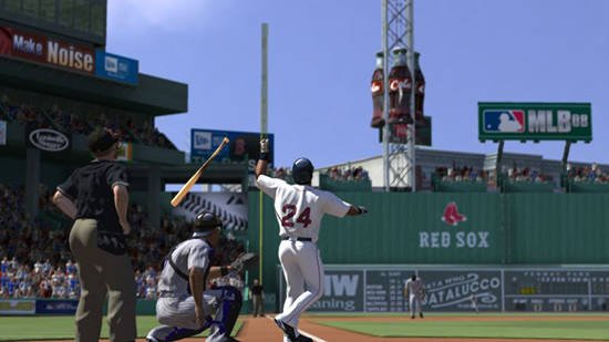 Manny Ramirez - HR over Green Monster