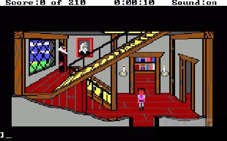 King's Quest III Gwydion and Manannan