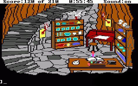 King's Quest III making a spell