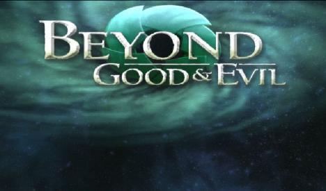 Beyond Good & Evil title screen