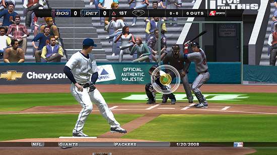 Pitcher-batter interface: Total Control Pitching