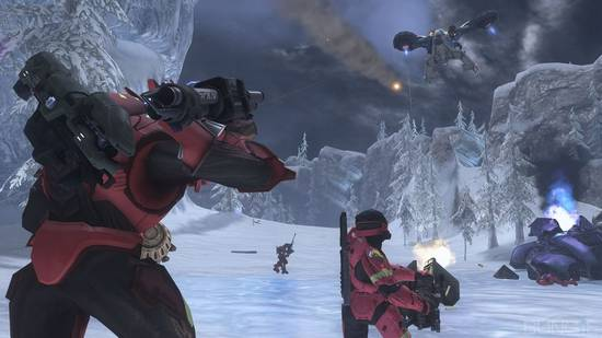 New screens of Halo 3's Legendary maps