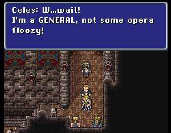 Final Fantasy VI Celes Maria switch