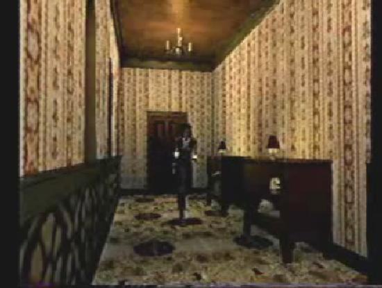Resident Evil hallway