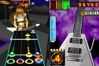 Guitar Hero On Tour screenshot 2