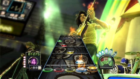 Guitar Hero: Aerosmith screenshot 1