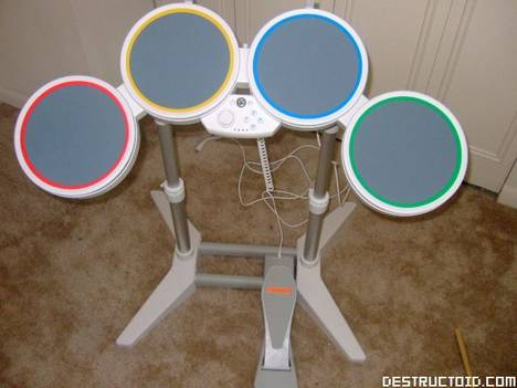 Hands-on with Rock Band drums for the Wii