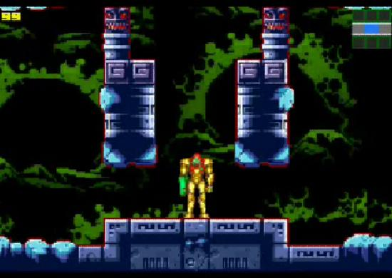 Metroid: Zero Mission first level