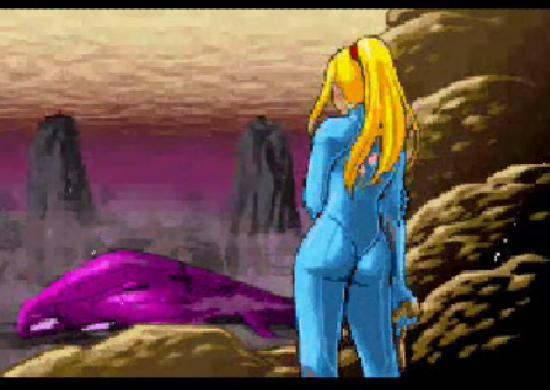 Metroid: Zero Mission Samus alone after crash