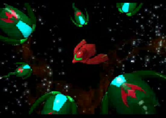 Metroid: Zero Mission ship attack
