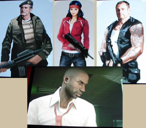 E3 08: Left 4 Dead main characters get redesigned