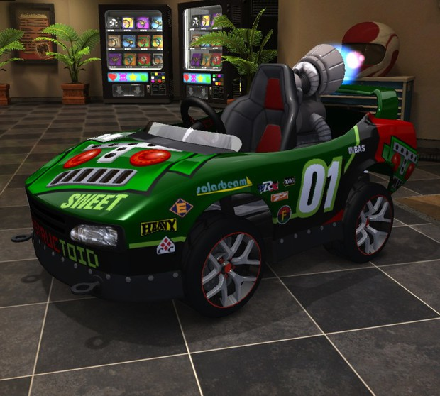 Community Blog By Edco // My D-Toid Car For ModNation Racers