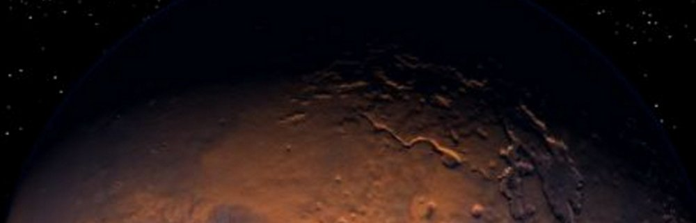 Buried On Mars blog header photo