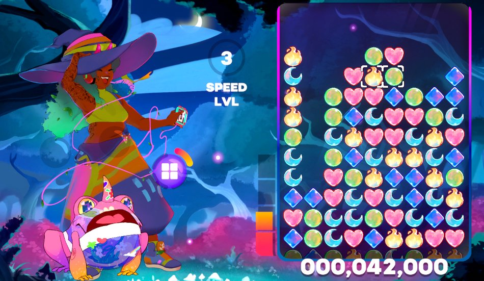A screenshot of Spirit Swap.
