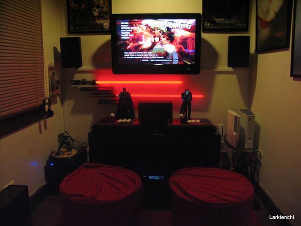 Community blog by a5977632110 my gaming setup revisited for Small room 7 1 setup