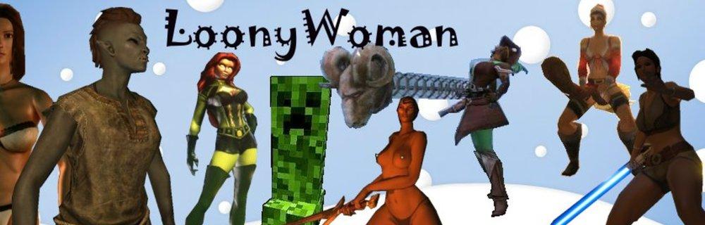 LoonyWoman blog header photo