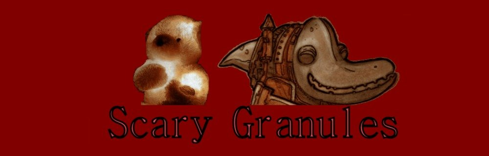 Scary Granules blog header photo