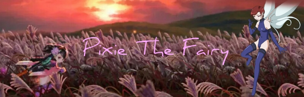 Pixie The Fairy blog header photo