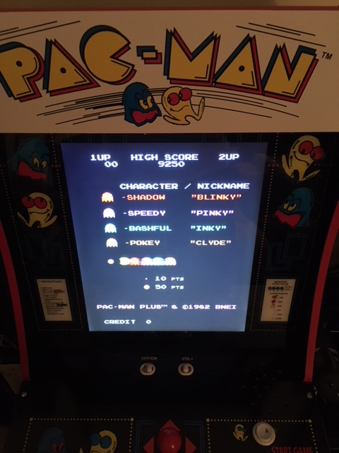 It's Pac-Man! Arcade 1UP