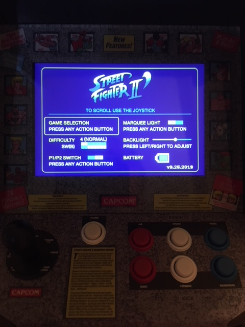 Replicade Street Fighter 2 Dip Switch Settings