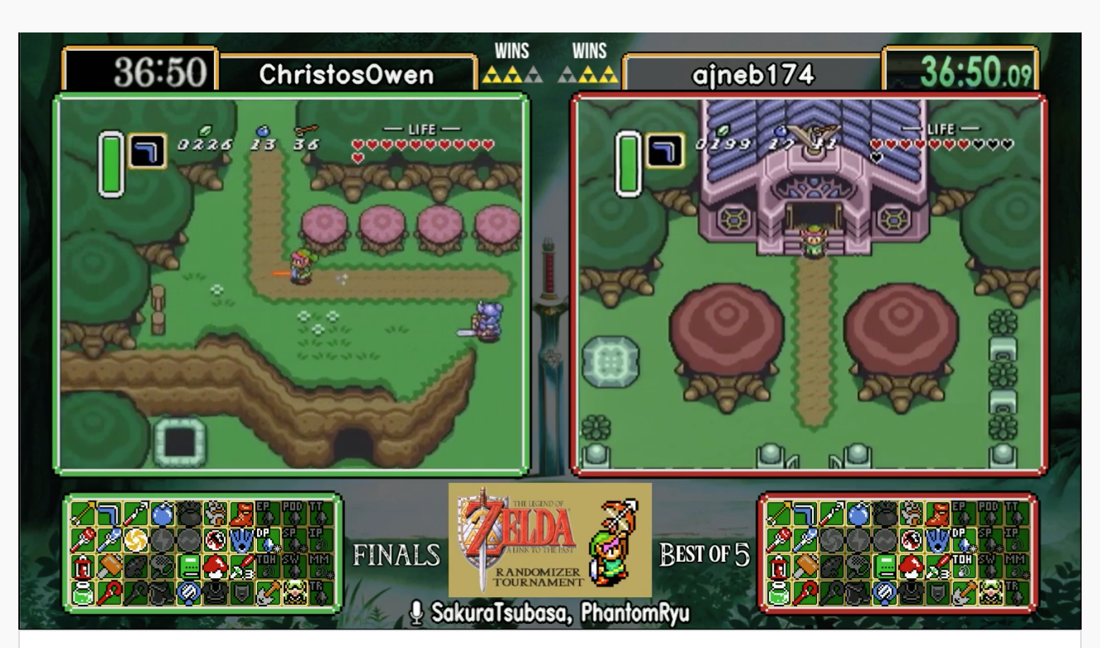 Infinite Remix: The Story of the Link to the Past Randomizer