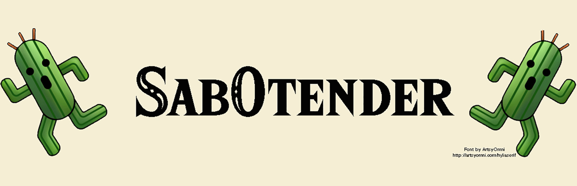 Sab0tender blog header photo