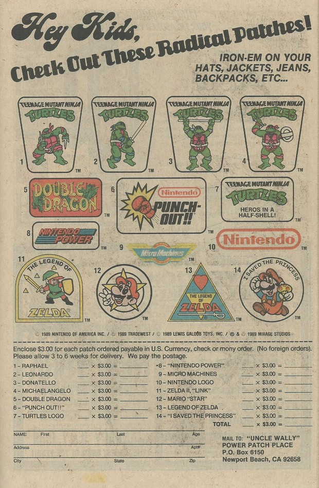 NES Patches