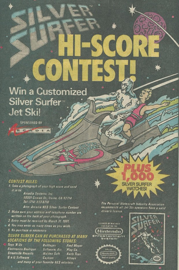 SIlver Surfer Contest